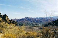 Hiking Trails in Palm Springs; The Lykken Trail was highlighted by Sunset Magazine