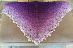 Wollelfe - Cool Lavender* Gradient yarn Merino-Twin - Fingering
