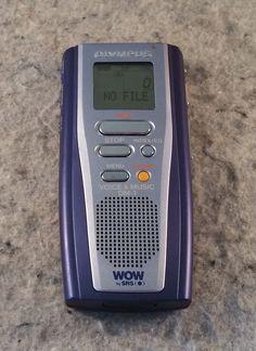 Olympus Digital DM-1 Voice & MP3 Recorder w/ SRS WOW & 128mb Card (C10B1)...... #Olympus