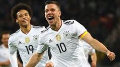 Germany 1 - 0 EnglandCompetition: FriendliesDate: 22 March 2017Stadium: Signal Iduna Park, Dortmund, Nordrhein-WestfalenGoals: Germany [Lukas Podolski] England