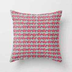 Flying Pig, Roman, Throw Pillows, Toss Pillows, Cushions, Decorative Pillows, Decor Pillows, Scatter Cushions