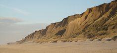 Das Rote Kliff in Kampen
