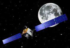 SMART-1 was the first European spacecraft to orbit the Moon. http://www.aerospaceguide.net/spacecraft/smart-1.html #space #esa #ion #propulsion #technology #demonstrator