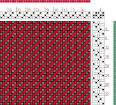 3軸織機の製織パターンの画像