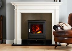 The Salisbury Electric Stove in dove or off white £1200