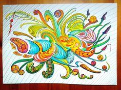 Summer feeling  Coloured with watercolor brushpen  #summerfeeling #sommergefühle #summercolours