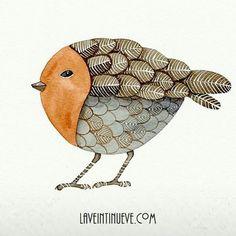 La veintinueve - Stylized bird reinvented