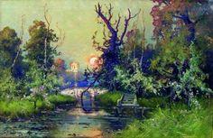 Клевер Ю. Ю. В парке Гатчинского дворца
