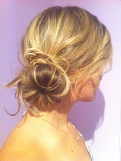 Seriously, the Sock Bun may change your life, or at least save your life tonight.    Here is our quick how-to:    Items needed: 1 sock, scissors, 2 hair ties, 4-6 bobby pins.    http://konatanningcompany.blogspot.com