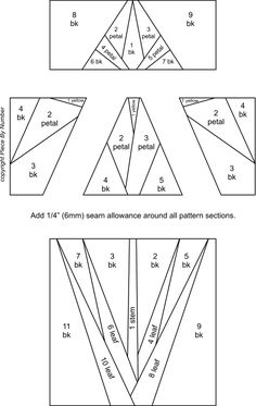 Paper Piecing Patterns Free Printables | Paper Pieced Daisy ... : paper piecing quilts free patterns - Adamdwight.com