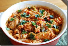 Spicy Spanish Chicken with Rice | Slimming Eats - Slimming World Recipes