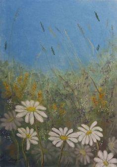 "Original, Fine Art Paper and Canvas prints available Saatchi Art Artist Stanza Widen; Painting, ""Savage Garden"" #art"