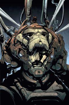 Iron Man #88 by Pat Lee