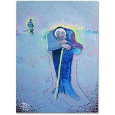 Trademark Fine Art Circle of Life Canvas Art by Lowell S.V. Devin, Size: 24 x 32, Multicolor