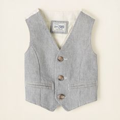 baby boy - jackets & vests - dressy vest | Children's Clothing | Kids Clothes | The Children's Place