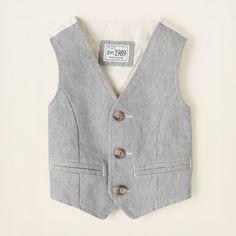 baby boy - oxford vest | Children's Clothing | Kids Clothes | The Children's Place