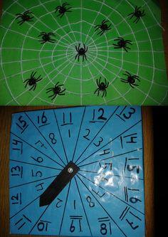 spinnenspel, synchroon tellen, kleuters