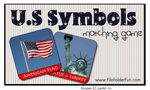 US symbols File Folder Game and lots of other free printables! I used these a lot in Kindergarten last year!