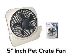 Dog Crate Fans