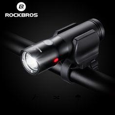 Rockbros fahrrad licht power bank wasserdichte usb wiederaufladbare fahrrad licht seite warnung taschenlampe 700 lumen 18650 2000 mah 6 modi