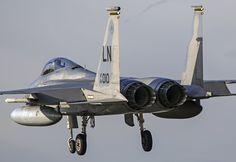 https://flic.kr/p/RHAJ6U | McDonnell Douglas F-15C Eagle | RAF Lakenheath