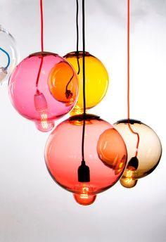 Meltdown Lamp | glass pendant | JOHAN LINDSTÉN