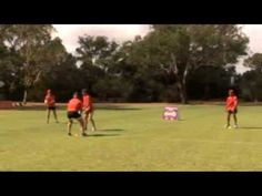 Pass and Attack v Defence rugby drills
