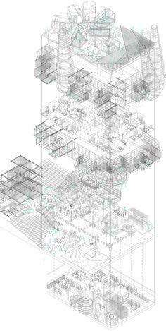 Student Hall of Residence in Brussels // archbusterx