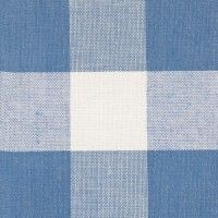 Swedish Furniture in England - Nordic Style Blue Large Check