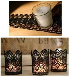 I'd do it with white or gold :) DIY