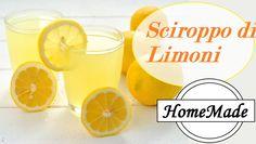 Sciroppo di Limoni - HomeMade - Lemon Syrup