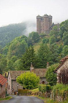 Hill Castle, Auvergne, France