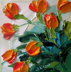 Artist Jane Ironside (of IronsideImpastos) paints flowers that literally pop off the page. Utilizing a distinct impasto style involving layers that impress...