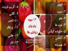 ۱۳ میوه برتر برای دیابتی ها