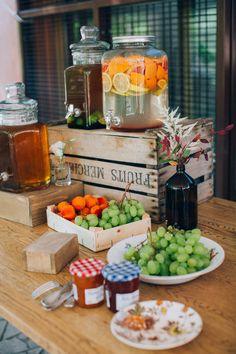 Brunch mariage bohème par Atelier Blanc Organisation et Décoration Traiteur Citron Pavot Photographie Ingrid Lepan