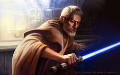 Obi Wan Kenobi /by AnthonyFoti #deviantART #starwars #art