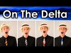 Darkness On The Delta - Barbershop Quartet - Julien Neel - YouTube