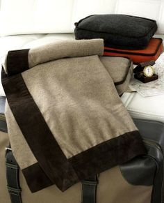 Cashmere Jet Setter Travel Blanket & Pouch Cashmere Throw, Packing Ideas, Travel Products, Travel Set, Gift List, Linens, Spotlight, Jet, Archive