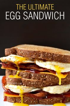 This perfect egg sandwich is simple and simply amazing thanks to a hint of strawberry jam to make the bacon pop.