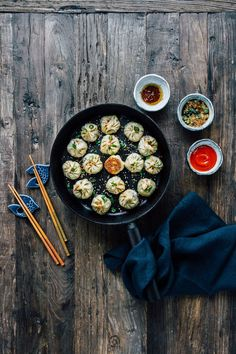 Another year has come and it is almost time for Chinese Lunar New Year again. In China, one of the most popular dishes around this time of the year is dumplings. Family and friends would get together and prepare and eat dumplings together. In this recipe, the dumplings are filled with only vegetable