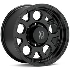 KMC XD Series XD122 Enduro (Black Painted)