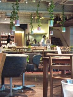 Royal Garden Cafe (Aoyama Ichome) | A fashionable cafe that an university colleague recommends highly.