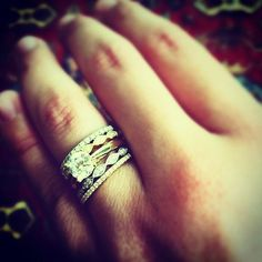 Sylvie Stackable Wedding Bands and Fashion Rings!