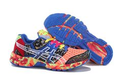 096b7690a Asics Gel-noosa TRI 8 Mens Orange Red Dark Blue Confetti - Click Image to
