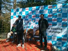#mtbshimla2014 flag off
