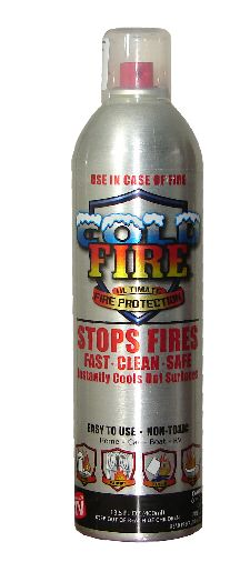Extintor Cold Fire de 400 ml en Aerosol  #extintor #cold_fire #extinguidor #fireman #coldfire #incendio #bombero