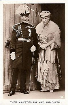 King George V. & Queen Mary of Britain | Miss Mertens | Flickr