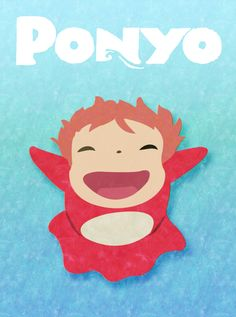 Ponyo... If you put this on a long sleeved size 8 tshirt for me I would love you forever!  edit:  I just made it myself!  It's not perfect, but a definite win that I think she will love!  Update:  She definitely loved it!