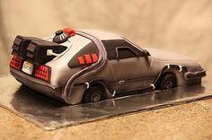 Back to the Future Delorean cake.