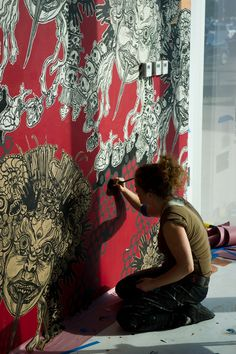 Swoon is one of my absolute fave street artists